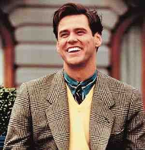 Jim Carrey as Truman Burbank in The Truman Show