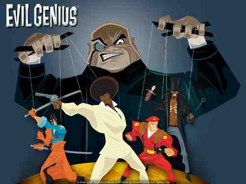 Evil Genius game cover art