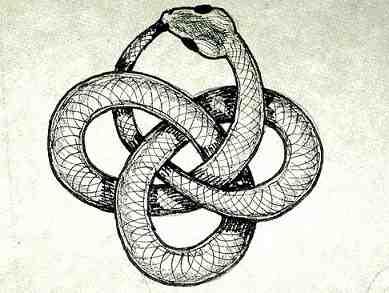 Ouroboros knot