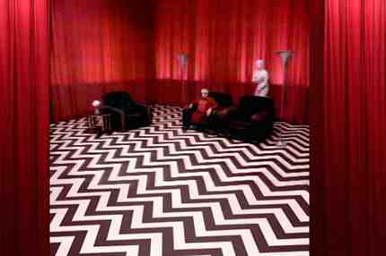 The Red Room in Twin Peaks