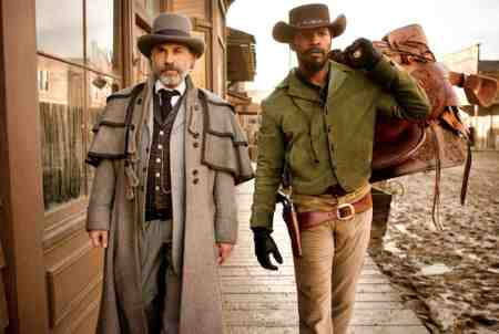 Jamie Foxx and Christoph Walz are hired guns in Django Unchained
