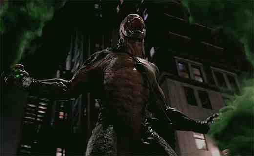 Rhys Ifans as The Lizard in The Amazing Spider-Man
