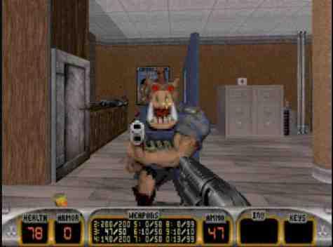 Oh Duke Nukem Pig Cop