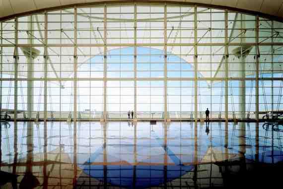Denver Int'l Airport Interior Curtainwall