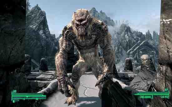 Troll Sasquatch Fallout 4
