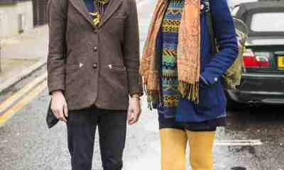 CLR Street Fashion: Johan and Sara, London 1
