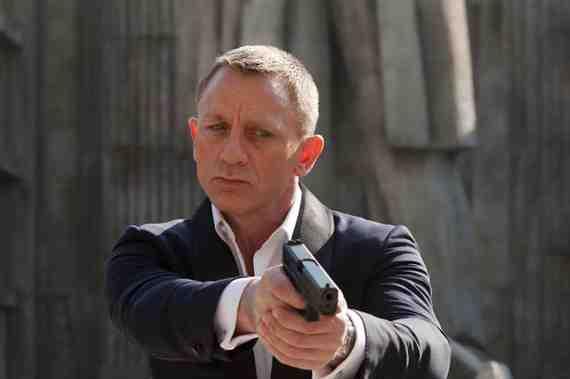 Skyfall still: Daniel Craig