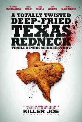 KILLER JOE, US advance poster, 2011