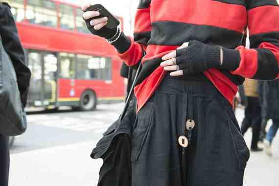 CLR Street Fashion: James, London Fashion Week
