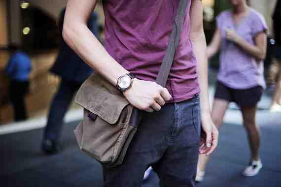 CLR Street Fashion: All Saints tee Ziggy jeans, Fossil watch