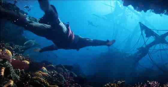 AC4 Kenway Swimming Underwater
