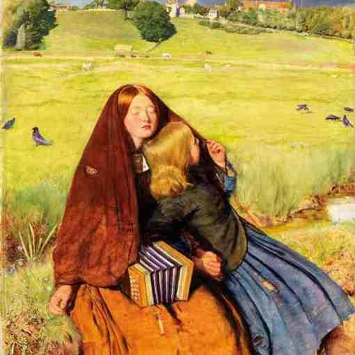 John Everett Millais: The Blind Girl