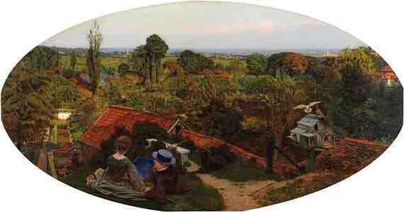 Ford Madox Brown: An English Autumn Afternoon