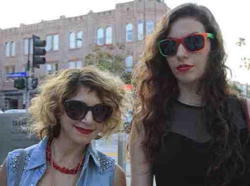 CLR Street Fashion: Gianna and Brittany, Santa Monica
