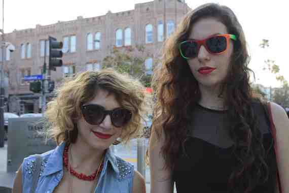 CLR Street Fashion: Gianna and Brittany, Santa Monica