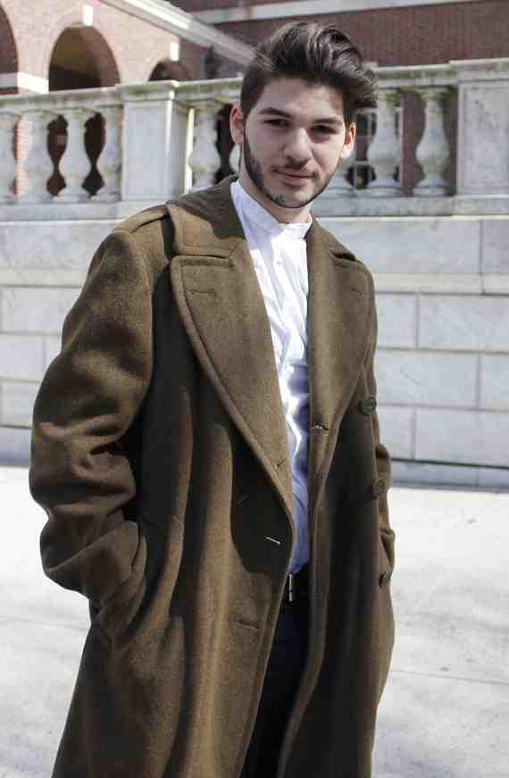 CLR Street Fashion: Chris in New York City