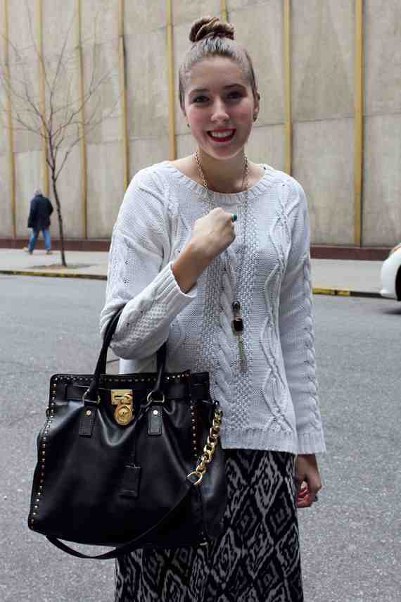 CLR Street Fashion: Kim in New York City