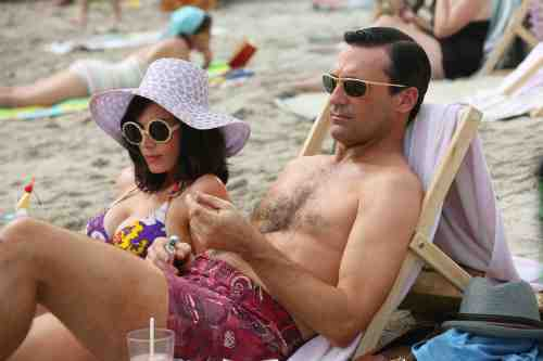 Mad Men Season 6 Premiere Don and Megan