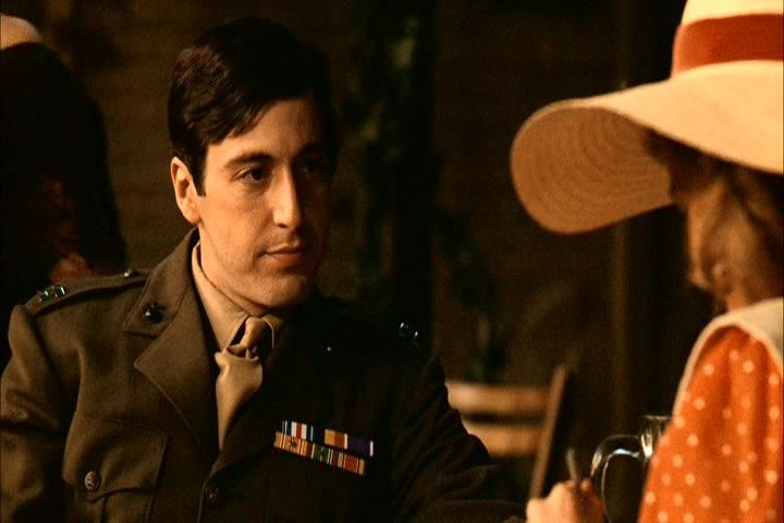 Al Pacino as Michael Corleone the godfather 1