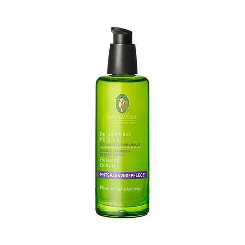 Primavera Beruhigendes Körperöl Bio Lavendel & Bio Vanille