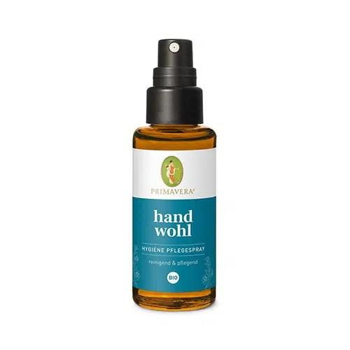 Primavera Handwohl Hygiene Pflegespray bio