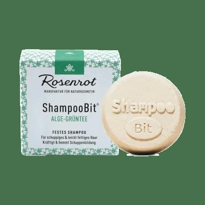 Rosenrot ShampooBit Shampoo Bit Alge Grüntee