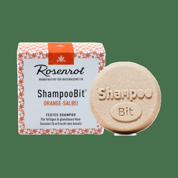 Rosenrot ShampooBit Shampoo Bit Orange Salbei