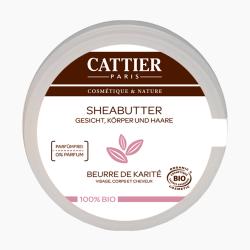 Cattier SHEABUTTER 100% BIO 100g