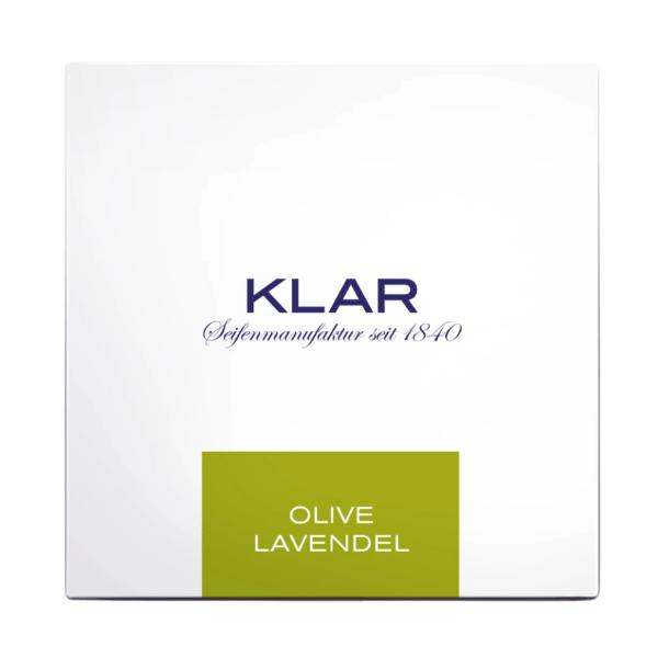 Klar Seifen Haarseife Olive Lavendel