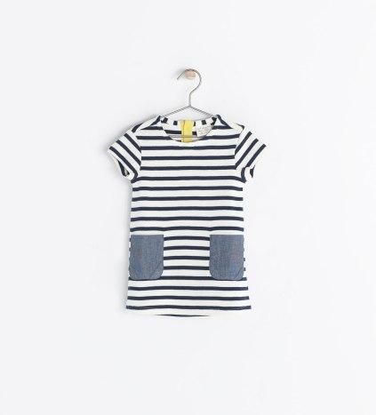 vestido bebe zara niña