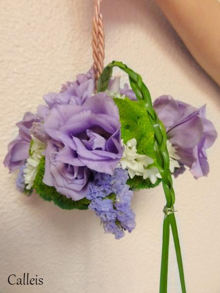 bouquet aumônière
