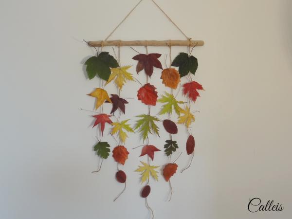 mobile de feuilles
