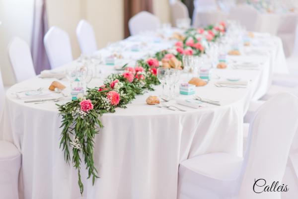 table d'honneur Mariage Ecole Militaire