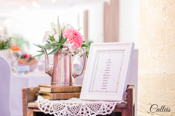 décoration florale Mariage Ecole Militaire