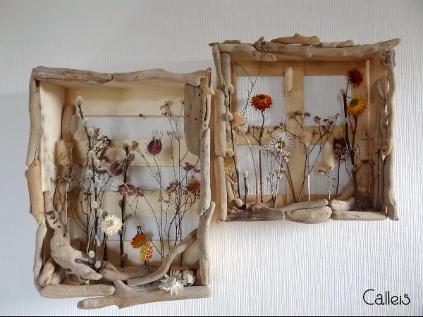 Fleurs séchées et bois flotté : l'alliance parfaite pour une décoration  bohème (DIY) -