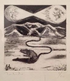 """Francisco Toledo """"El parto de los montes"""" 2014"""