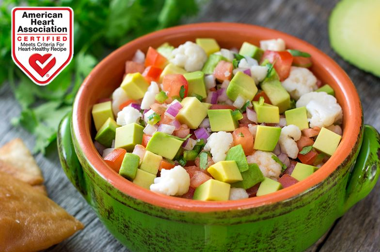 vegan avocado ceviche