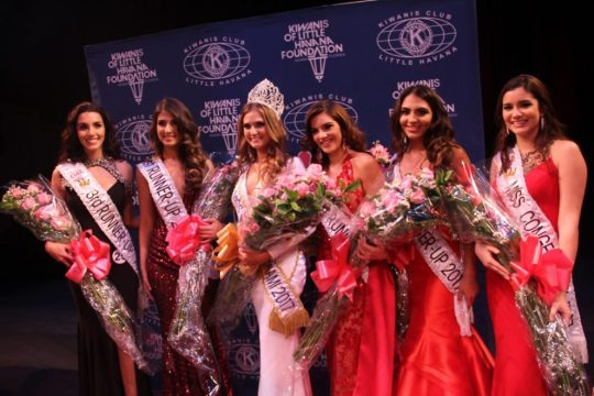 Miss Carnaval Miami 2017 and Court