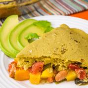 Tamale Pie with Avocado