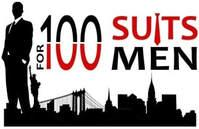 100 suits logo square - CHANGING LIVES, A SUIT AT A TIME!