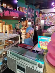 20180223 140033 resized 225x300 - NOTHING BETTER THAN ICE CREAM AND MUSIC AT MR. KREAM