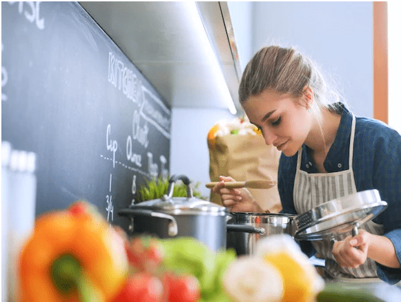 Teens cooking - Teens Who Cook Set the Table for Healthy Eating as Adults