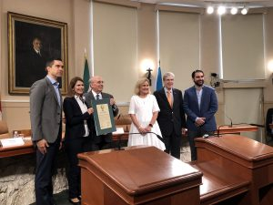 Signing Event 300x225 - PADF and City of Coral Gables to Promote STEM Education in Latin America, Caribbean