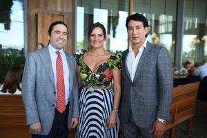 Frank Unanue, Cynthia Chipi, & Rene Ruiz - Photo WorldRedEye