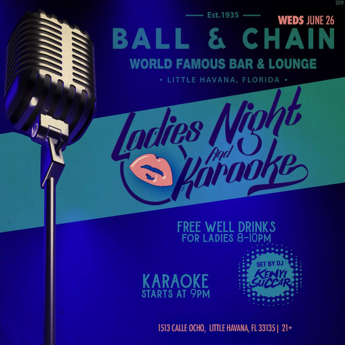 Ladies Night and Karaoke