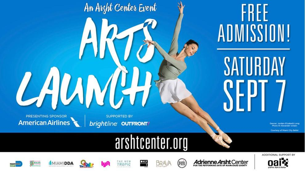 ArtsLunch2019 Promotional Flyer