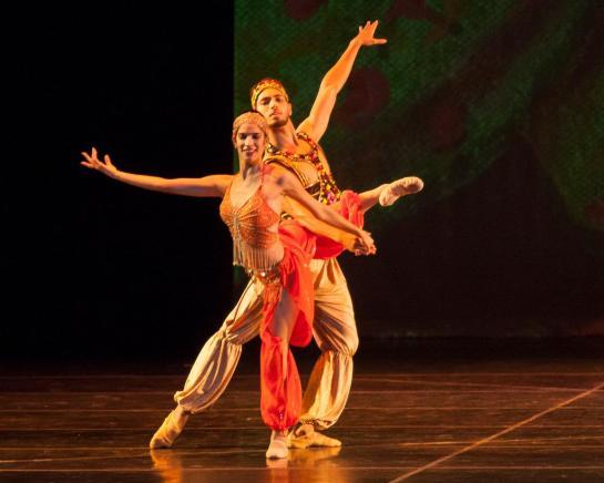 CCBM Scheherzade Photo Simon Soong - Cuban Classical Ballet of Miami  Jewels of the Russian Ballet