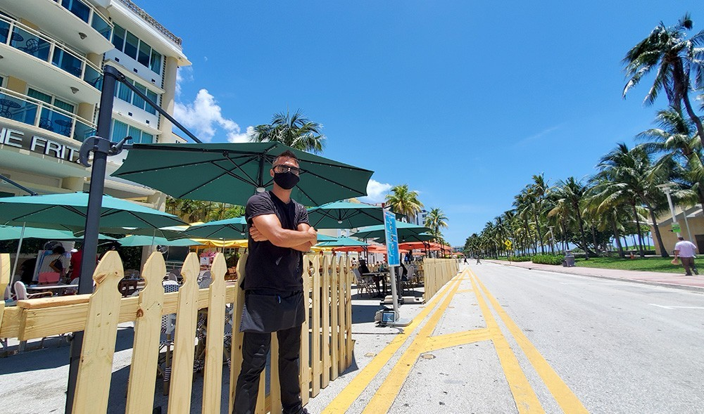 miami beach businesses closed - Calle Ocho needs outdoor seating too