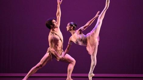 Ana Elisa and Norton Fantinel dancing