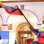 Maduro Abanderó a la delegación que partirá rumbo a los Juegos Olímpicos